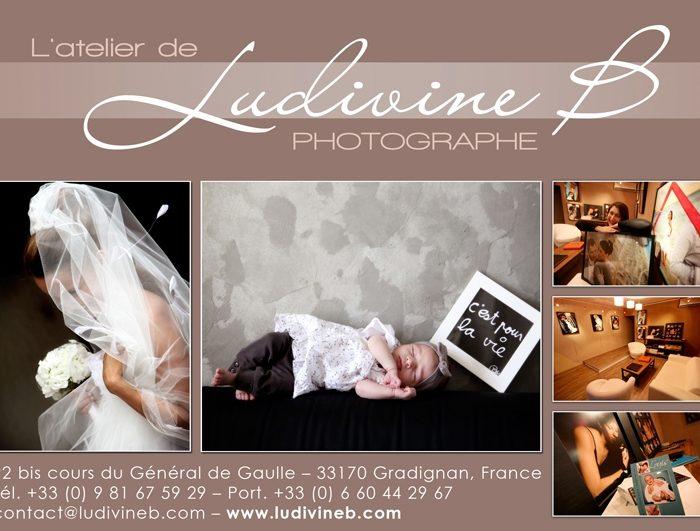 Ludivine B, Photographe, expose à l'Écomusée de la vigne et du vin de Gradignan