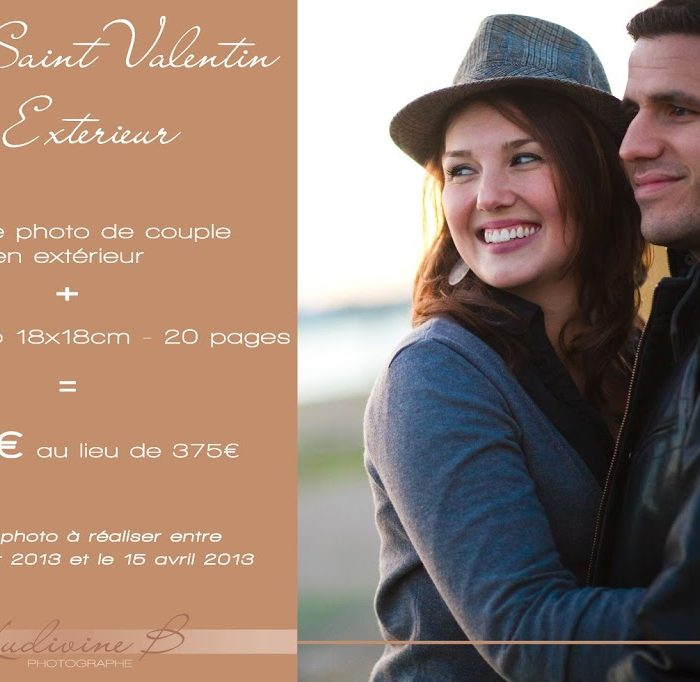 Profiter des offres Saint Valentin !