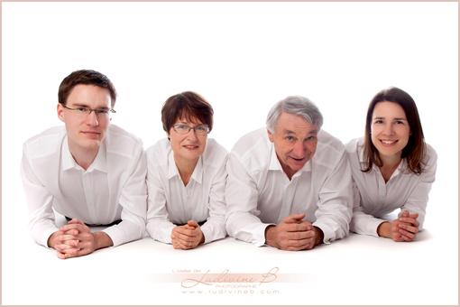 Séance en famille - Céline, Thomas, Alban, Monique & Bernard