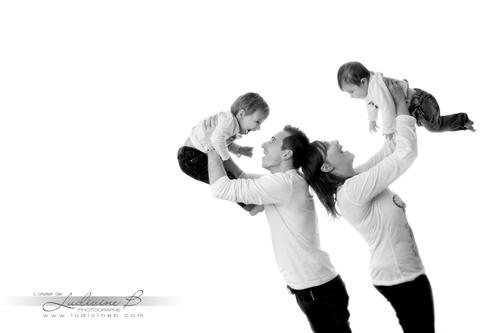 Séance Famille - Stéphane, Marielle et leurs enfants